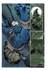 inhuman page 5  mad  inked by supernoobinks-COLOR by marcopelandraart