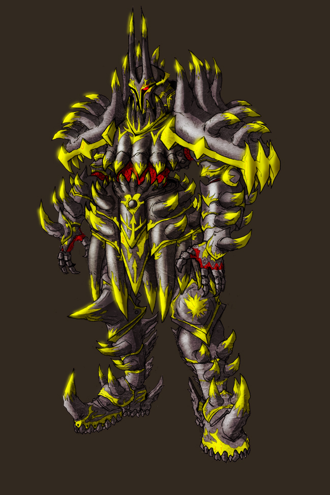 Gauron Warsong Colored by PioPauloSantana