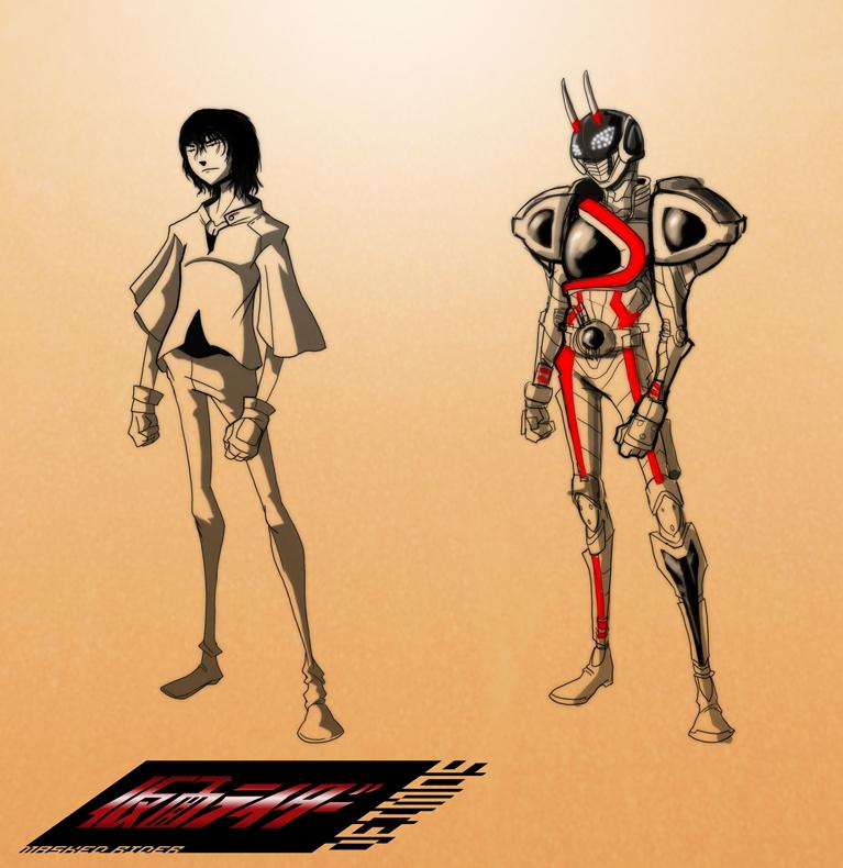 I am Kamen Rider Deimos by PioPauloSantana