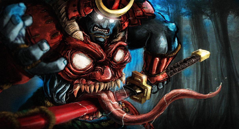 Anime Demon Masks