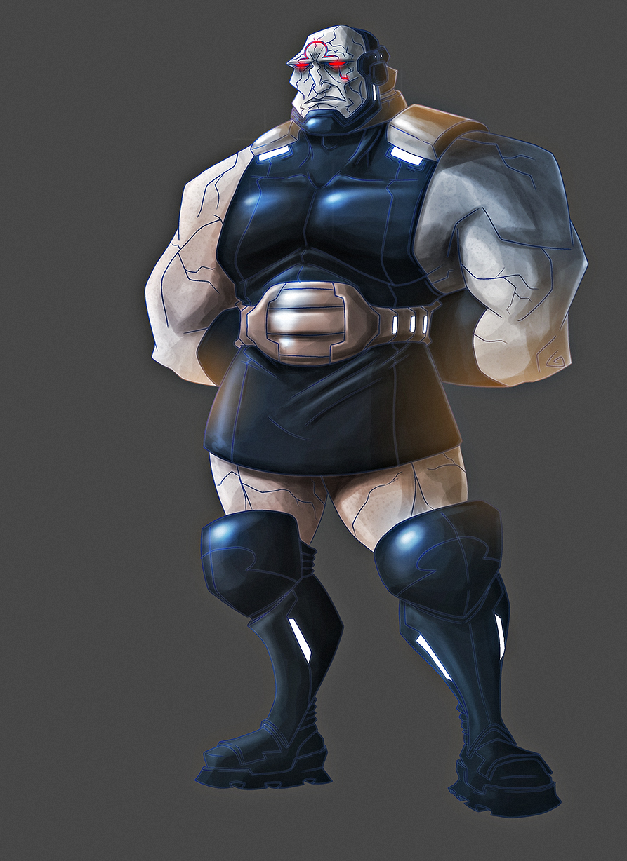 Darkseid by PioPauloSantana