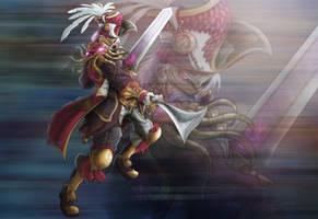 Soulcalibur V: Cervantes de Leon by PioPauloSantana