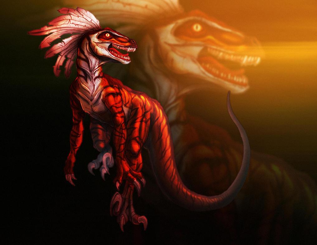 Primal Rage: Talon by PioPauloSantana