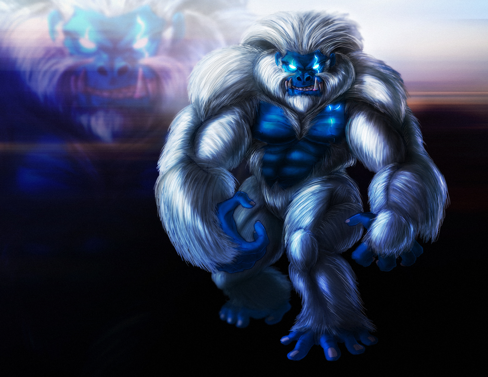 Primal Rage: Blizzard by PioPauloSantana