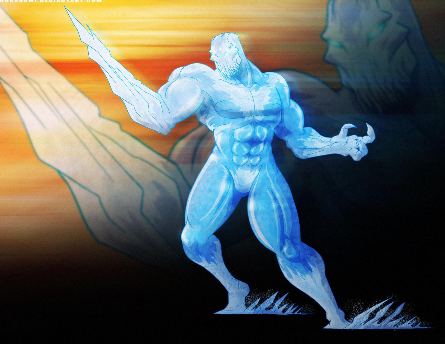 Killer Instinct: Glacius by PioPauloSantana