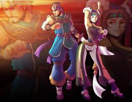 Soulcalibur: Korean Fighting Crew by PioPauloSantana