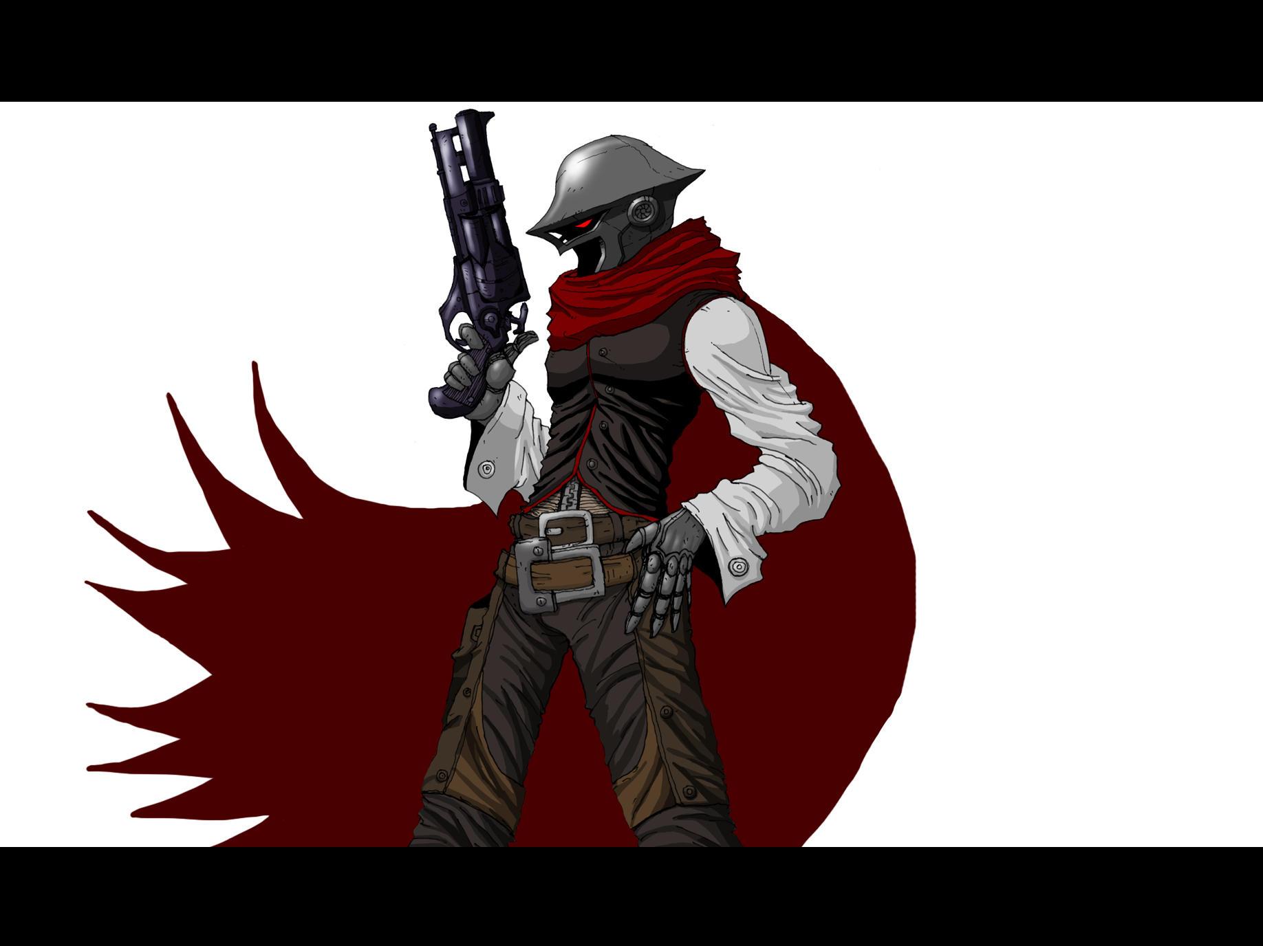 Hell gunfighter dogram by piopaulosantana on deviantart - Gunfighter wallpaper ...