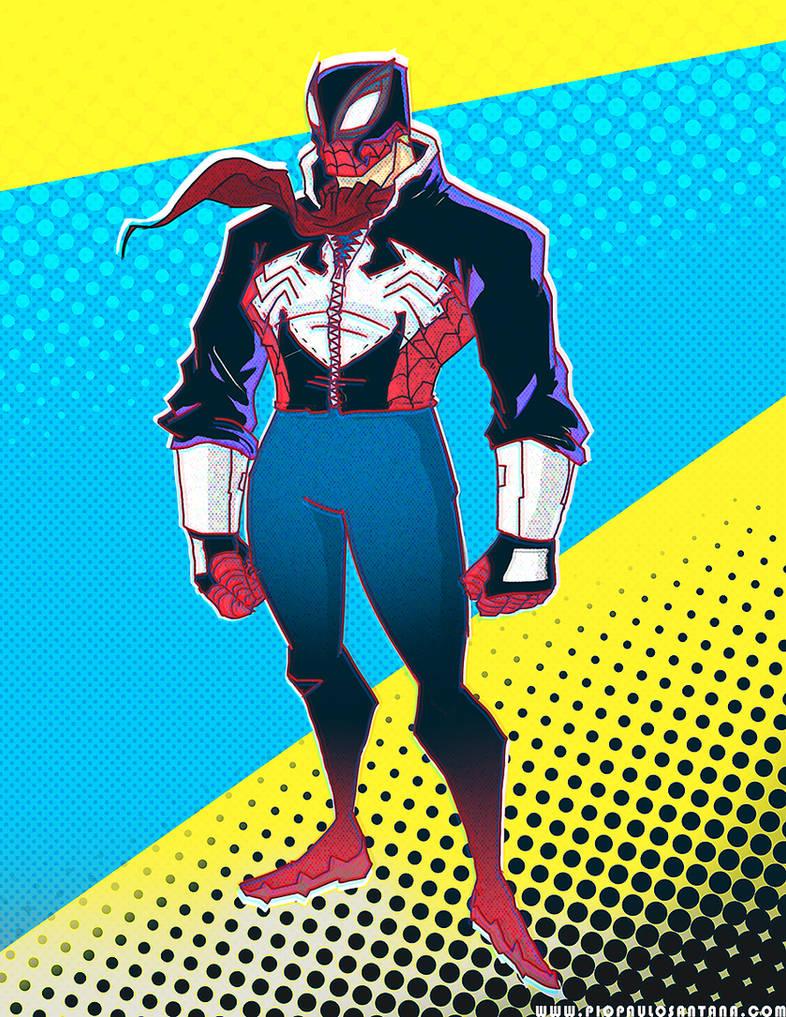Eddie Brock: Spider-Man by PioPauloSantana