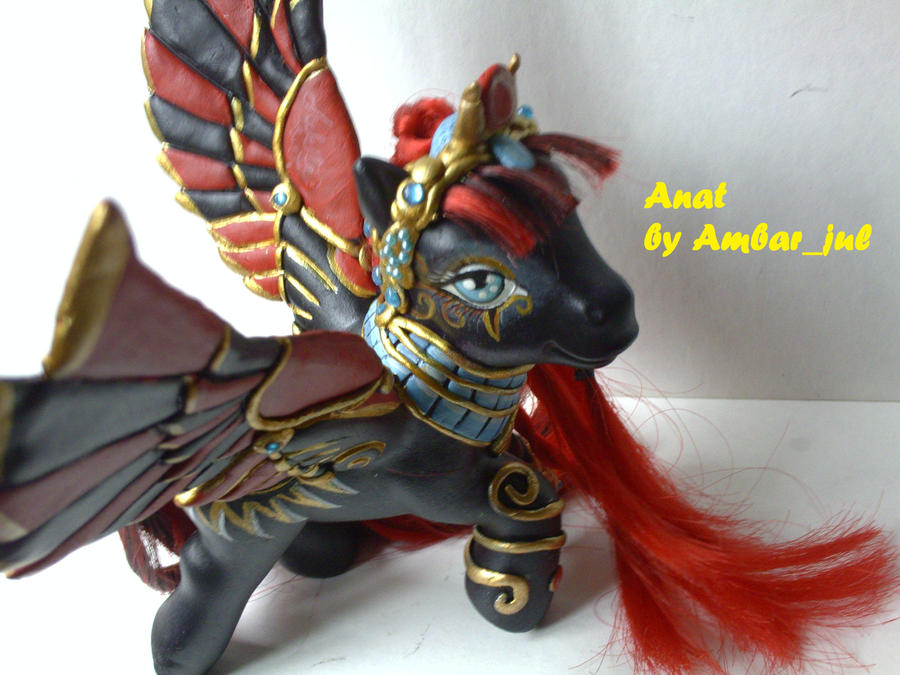 My little pony custom Anat by AmbarJulieta