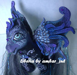 my little pony custom Liberia by AmbarJulieta