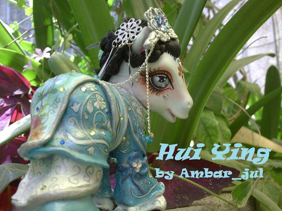 my little pony custom Hui Ying by AmbarJulieta