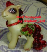 Little pony custom Red Bouquet by AmbarJulieta