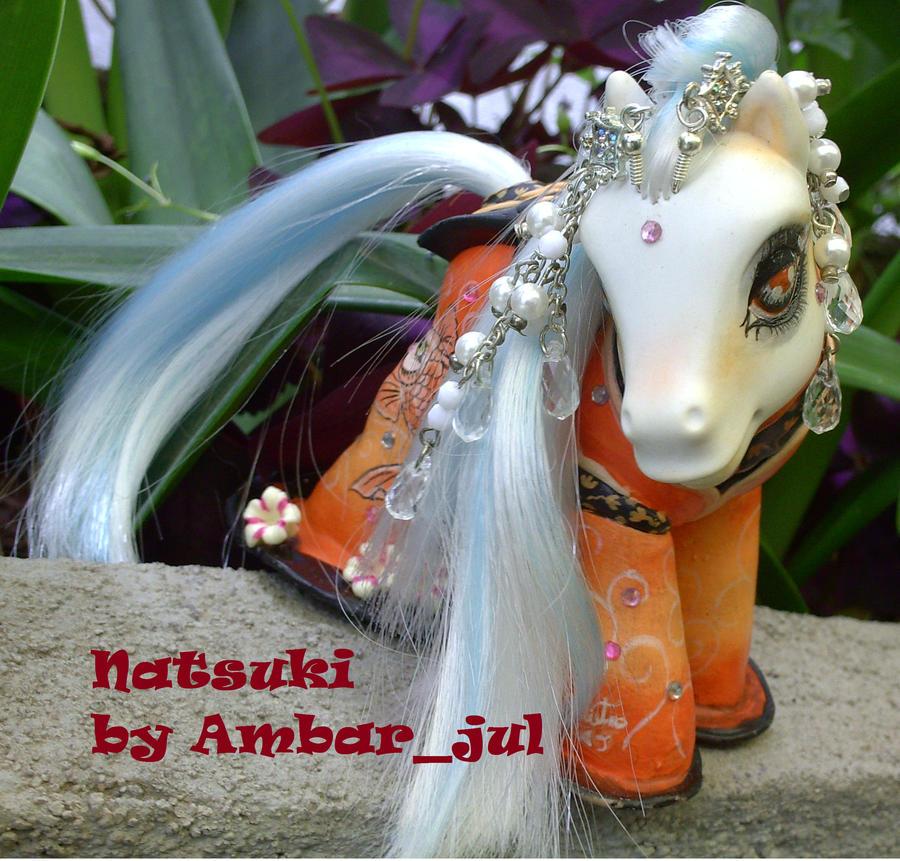 My little pony Natsuki by AmbarJulieta