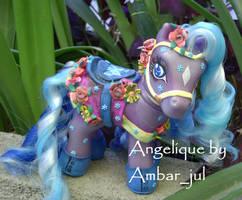 My little pony carousel Angie by AmbarJulieta