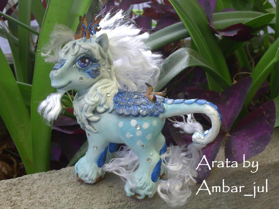 My little custom pony Arata by AmbarJulieta