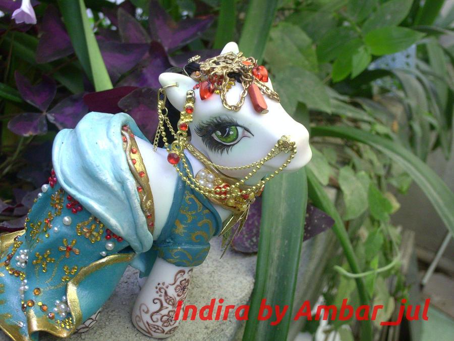 Indira Hindu bride by Ambar by AmbarJulieta