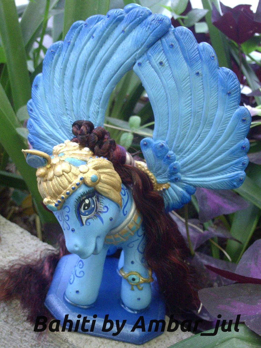 My little pony custom Bahiti by AmbarJulieta