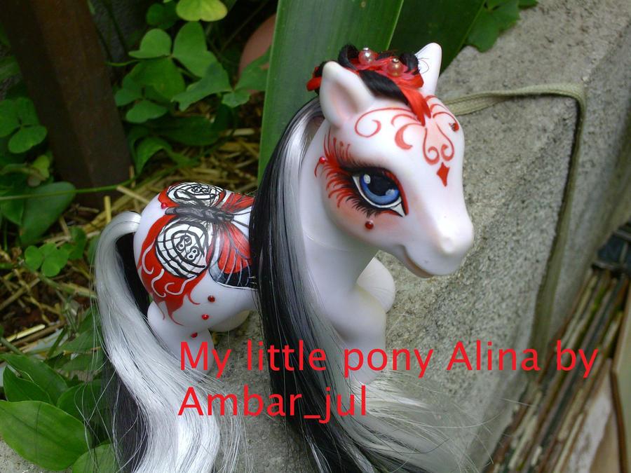 my little pony Alina Butterfly by AmbarJulieta