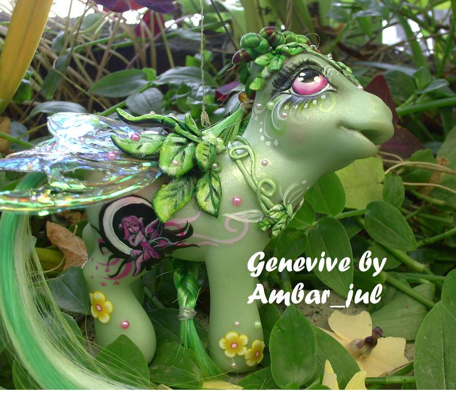Mi little pony custom Genevive by AmbarJulieta