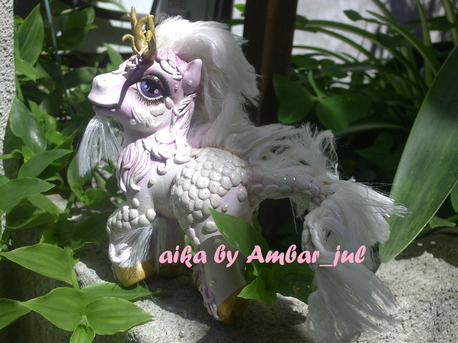 My little pony kirin Aika by AmbarJulieta