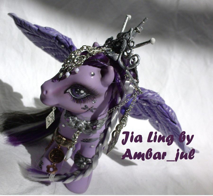My little pony custom Jia Ling by AmbarJulieta