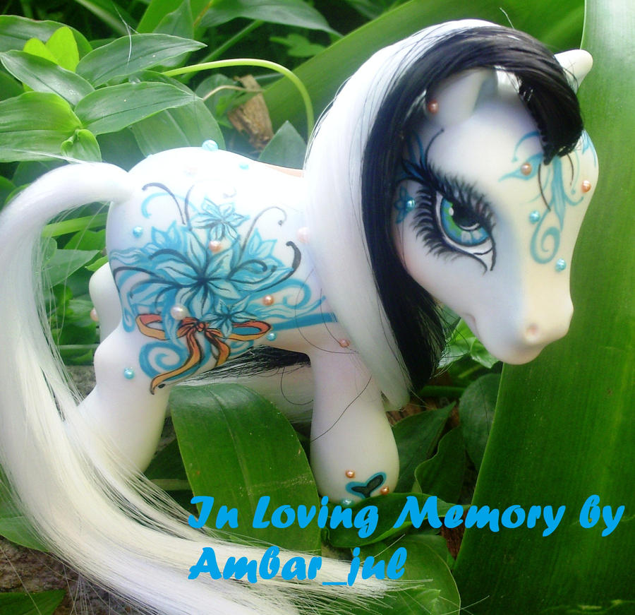 Pony Custom In Loving Memory by AmbarJulieta