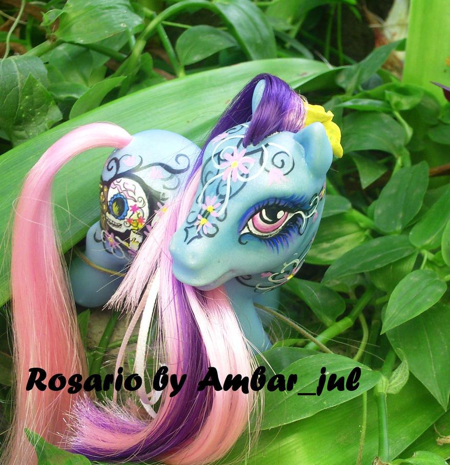 Dia de muertos pony Rosario by AmbarJulieta