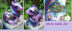 My little pony Lila by AmbarJulieta