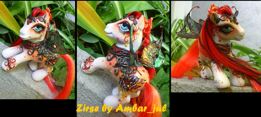 My little pony fairy Zirse by AmbarJulieta