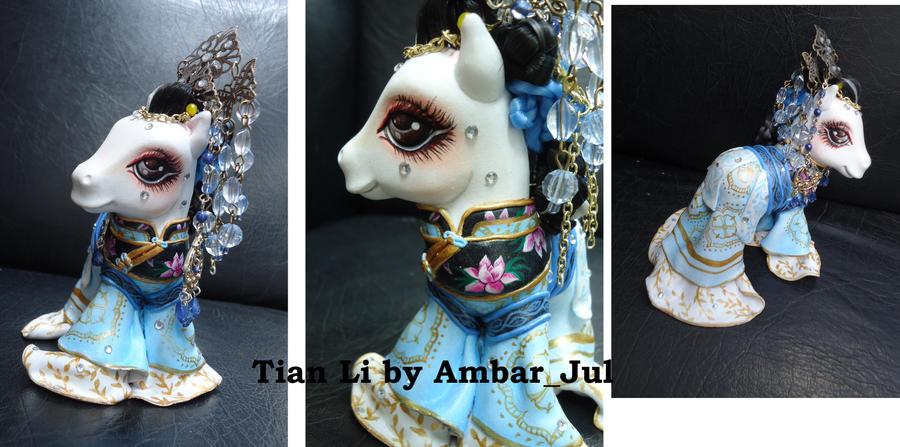 My little pony custom Tian Li Chinese by AmbarJulieta