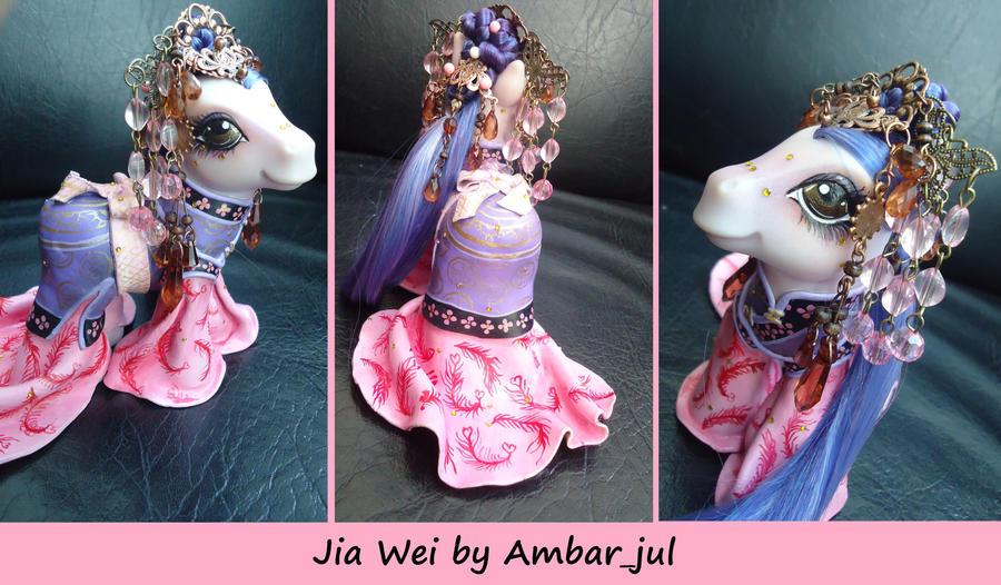 Chinese princess Jia Wei by Ambar_jul by AmbarJulieta