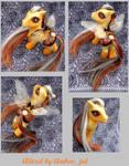 My little pony custom Alitzel by AJ