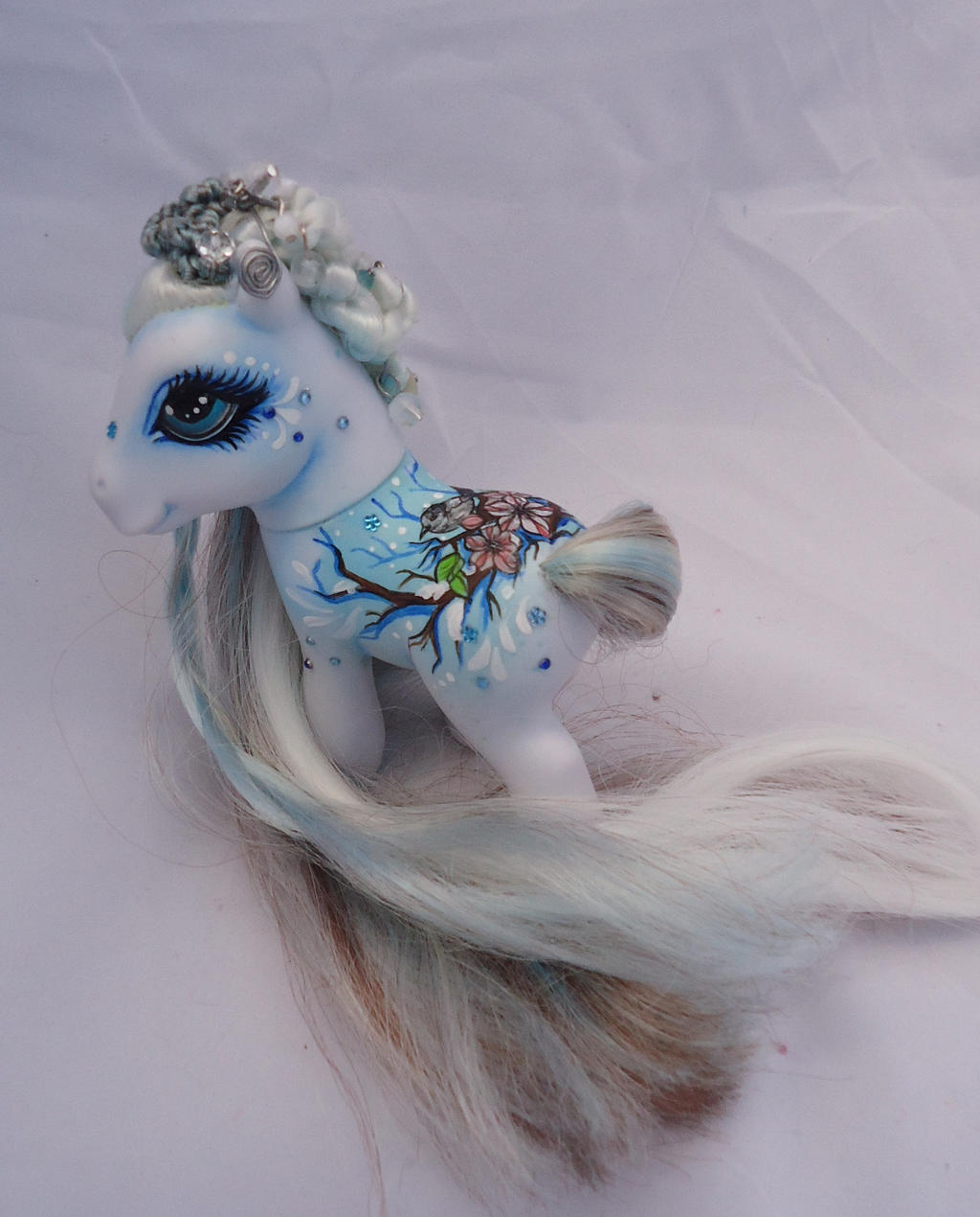 My little pony custom Winter Cocoon by AmbarJulieta