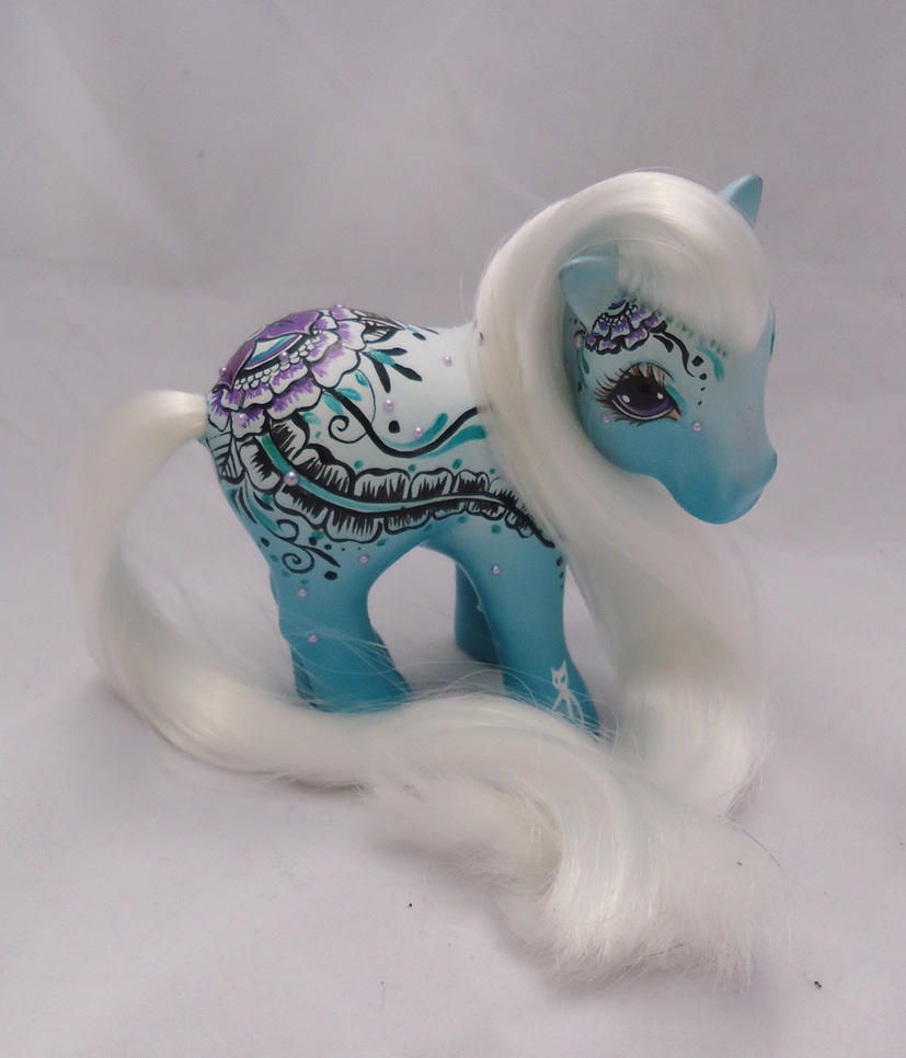 My little pony custom  henna Yaksha by AmbarJulieta