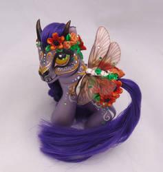 My little pony custom Dia de Muertos Citlali by AmbarJulieta