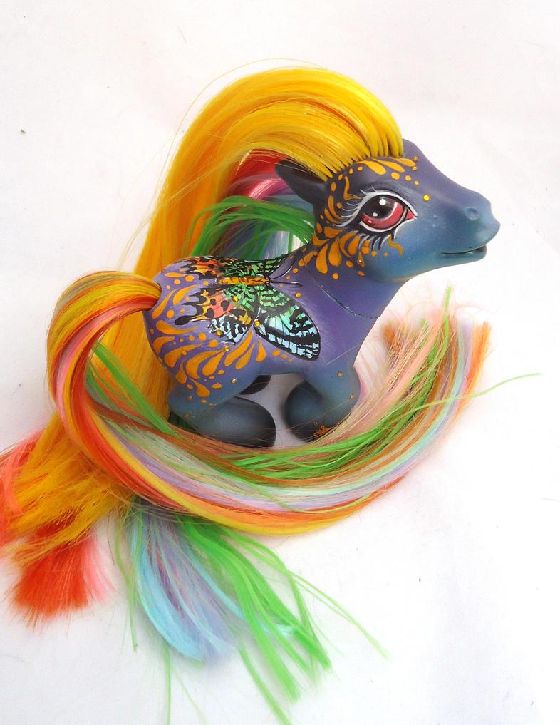My little pony custom butterfly wind whisper by AmbarJulieta