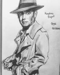 Pencil - Humphrey Bogart