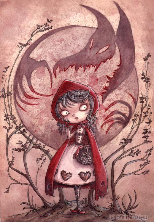 Imagenes de Caperucita roja, pero zarpadas!!!