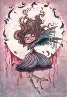 Little Raven Lady by maina