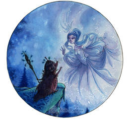 Star Princess + Hedgehog King by maina