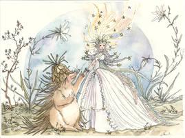 Star Princess - Hedgehog King by maina