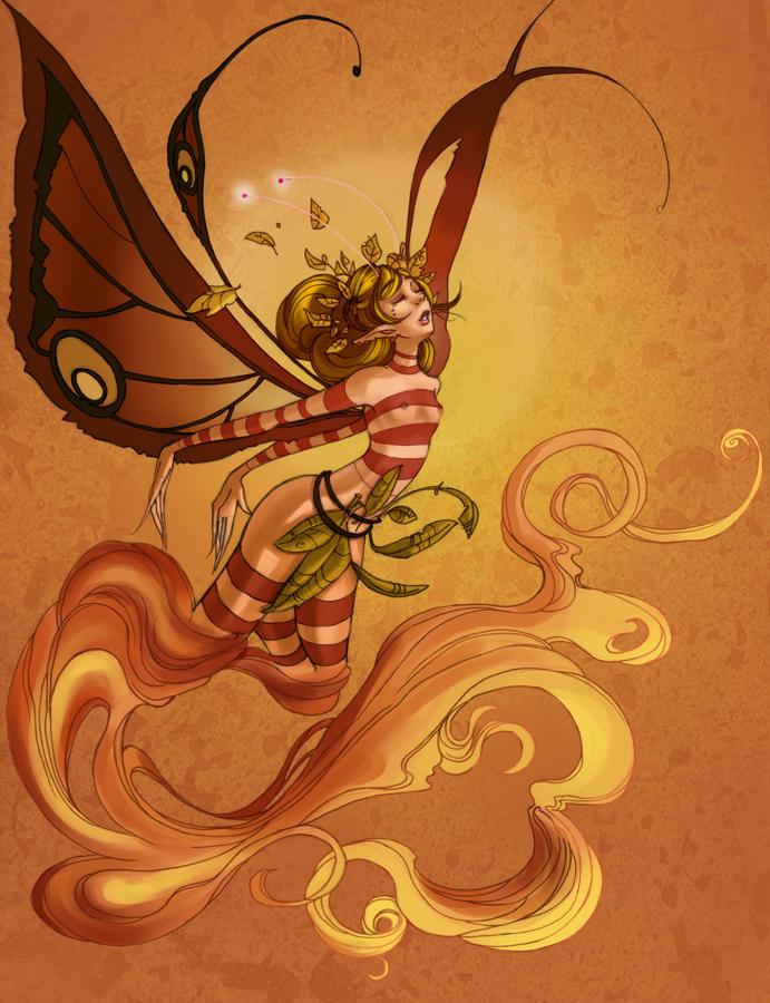 Faery Elementals: FoxFire by maina