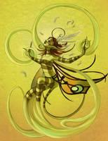Faery Elementals: WendyWind by maina