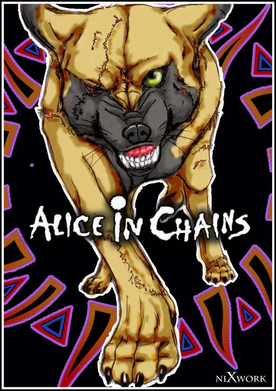 alice in cahins poster by nixtiredbrain on deviantart. Black Bedroom Furniture Sets. Home Design Ideas