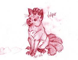Vulpix by NixTiredBrain