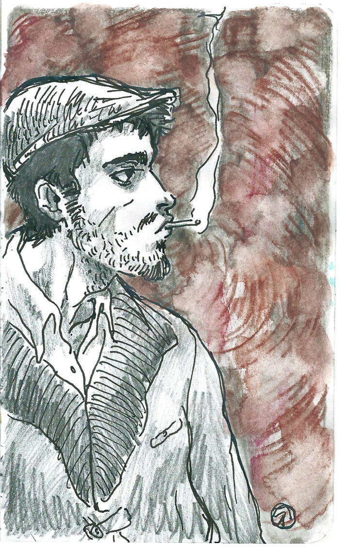 Jhon Rassel doddle by NixTiredBrain