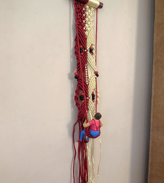 Macrame Wall Hanging by aakritiarts