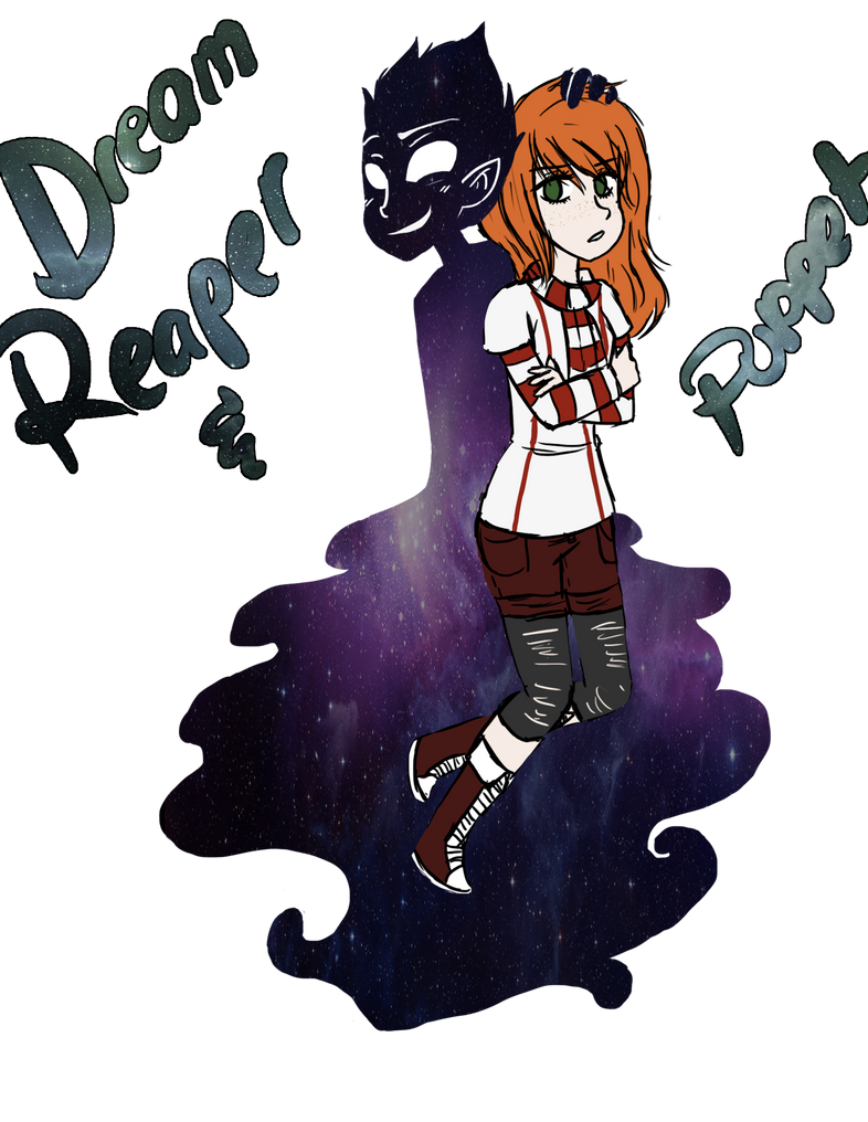 Creepypasta OC: Dream Puppet and Reaper [Update] by