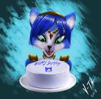 Happy Birthday Krystal!!! by V-TAL
