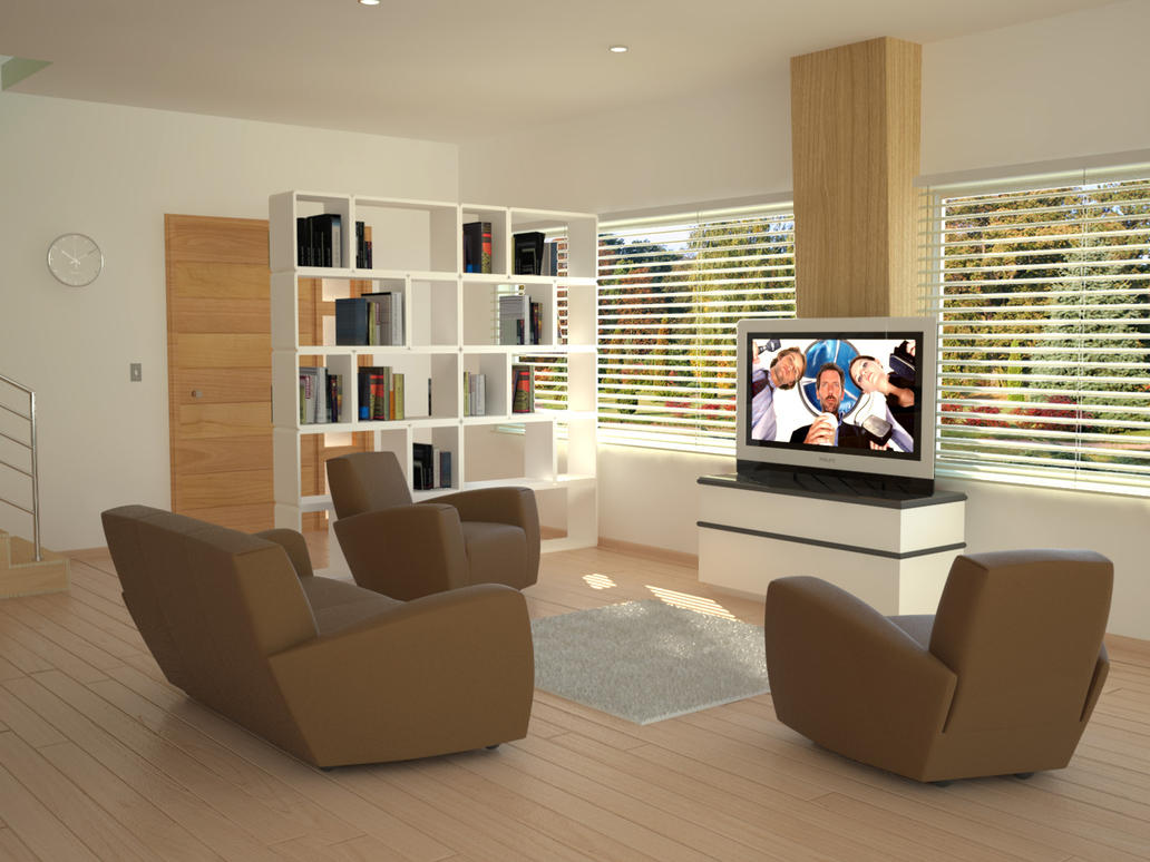 living room and mini bar 2 by nektares on deviantart